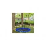 EcoToys Houpací kruh Čapí hnízdo 100 cm modrý