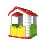 Dětský zahradní domeček se skluzavkou ZOG.CHD-803