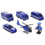 ISO 11411 Dětská vláčkodráha Policie