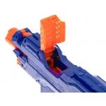 KIK Dětský samopal typ NERF s puškohledem + 48 nábojů