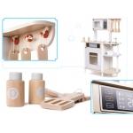 iMex Toys Dřevěná kuchyňka Piaf s moderními doplňky