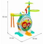 iMex Toys velká sestava bicí pro nejmenší HOLA