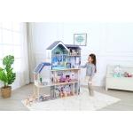 Ecotoys dřevěný domeček pro panenky rezidence Maya