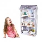 Ecotoys dřevěný domeček pro panenky rezidence Grace