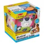 Ks Kids Vzdělávací dětská hračka Musical Farmyard Cube