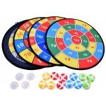 iMex Toys Sada štítů 4 kusy, míčová hra na suchý zip GR0514