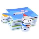 iMex Toys Pěnová puzzle podložka Zvířata 37cm x 37cm ZA3151
