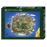 Heye Puzzle Anders Lyon Země 1000 dílků