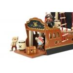 Vilac dřevěný hrací set piráti Pirátská loď